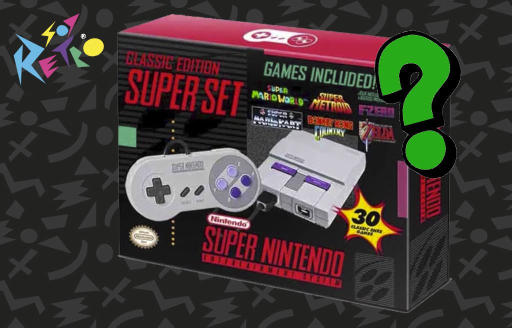 Nintendo sacará una versión mini del Super Nintendo [rumor]