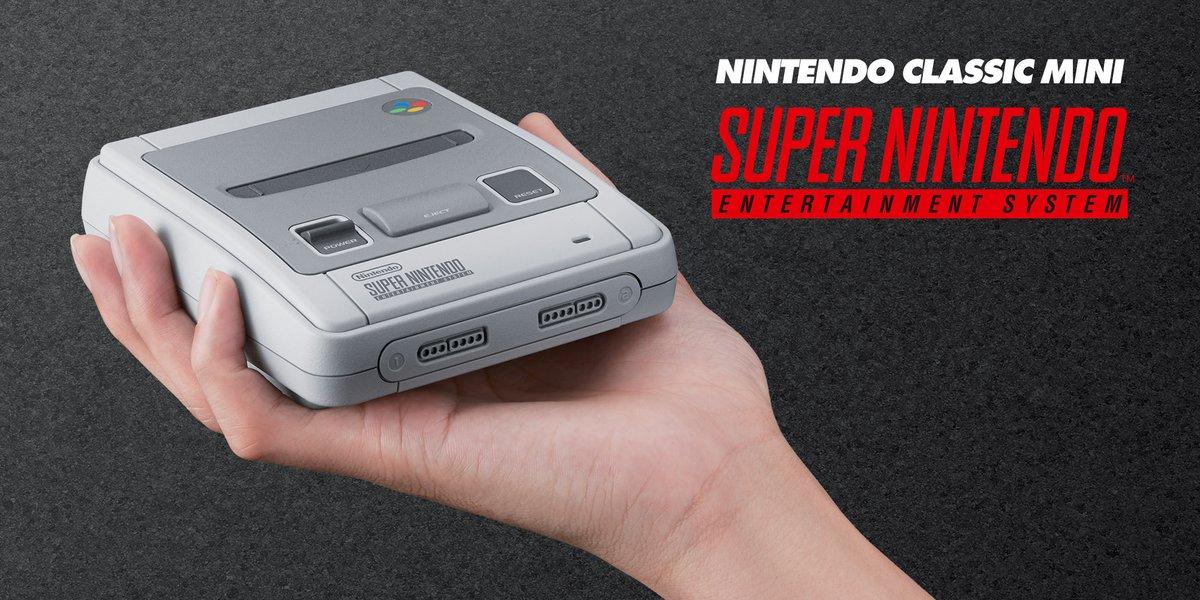 Ya es oficial Nintendo Classic Mini SNES
