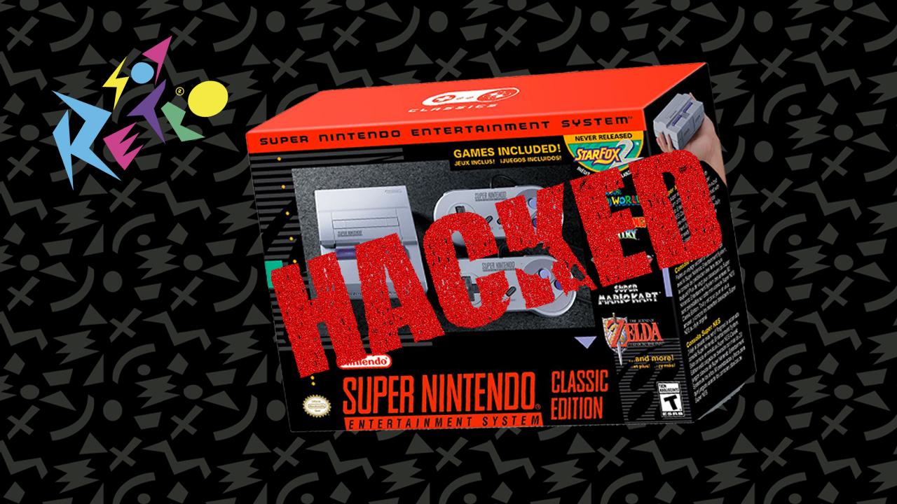 SNES Classic Hackeado!