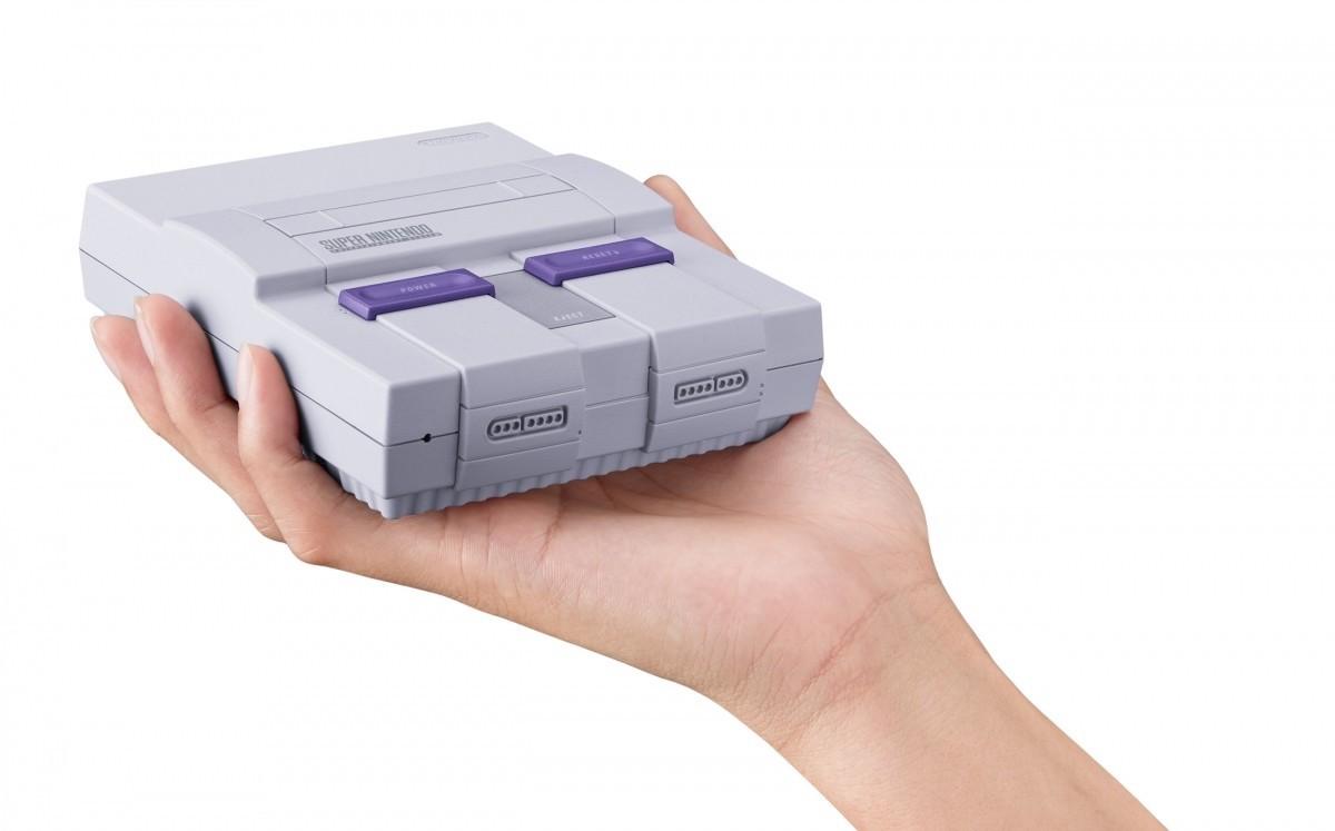 El SNES mini usa el mismo hardware que el NES mini