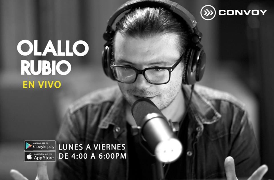 El regreso de Olallo Rubio a un programa en vivo