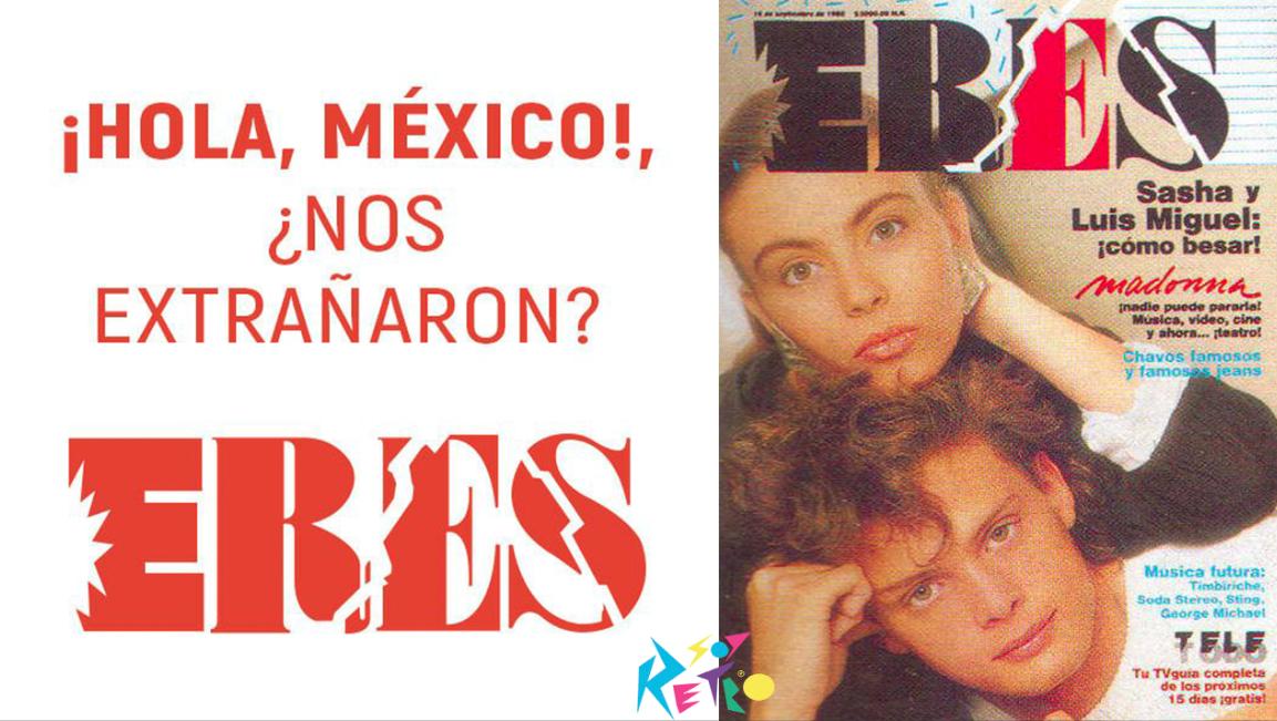 """La revista """"Eres"""" anunció su regreso"""