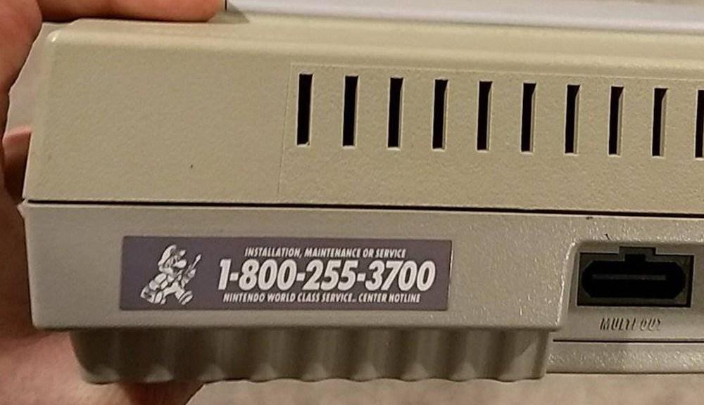 El soporte telefónico del Super Nintendo aun funciona después de 27 años.