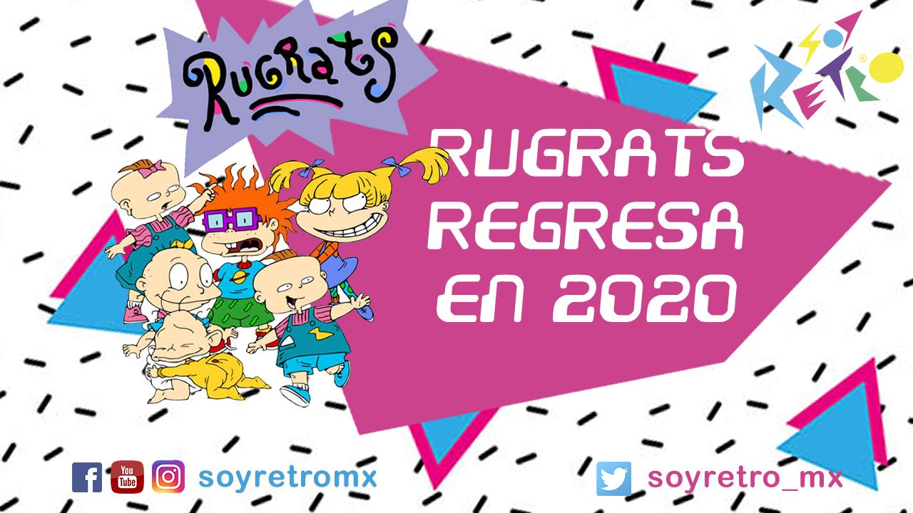 Rugrats regresa con 26 episodios y un live action en 2020