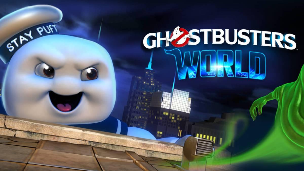 Ahora puedes cazar fantasmas con tu celular en Ghostbusters World