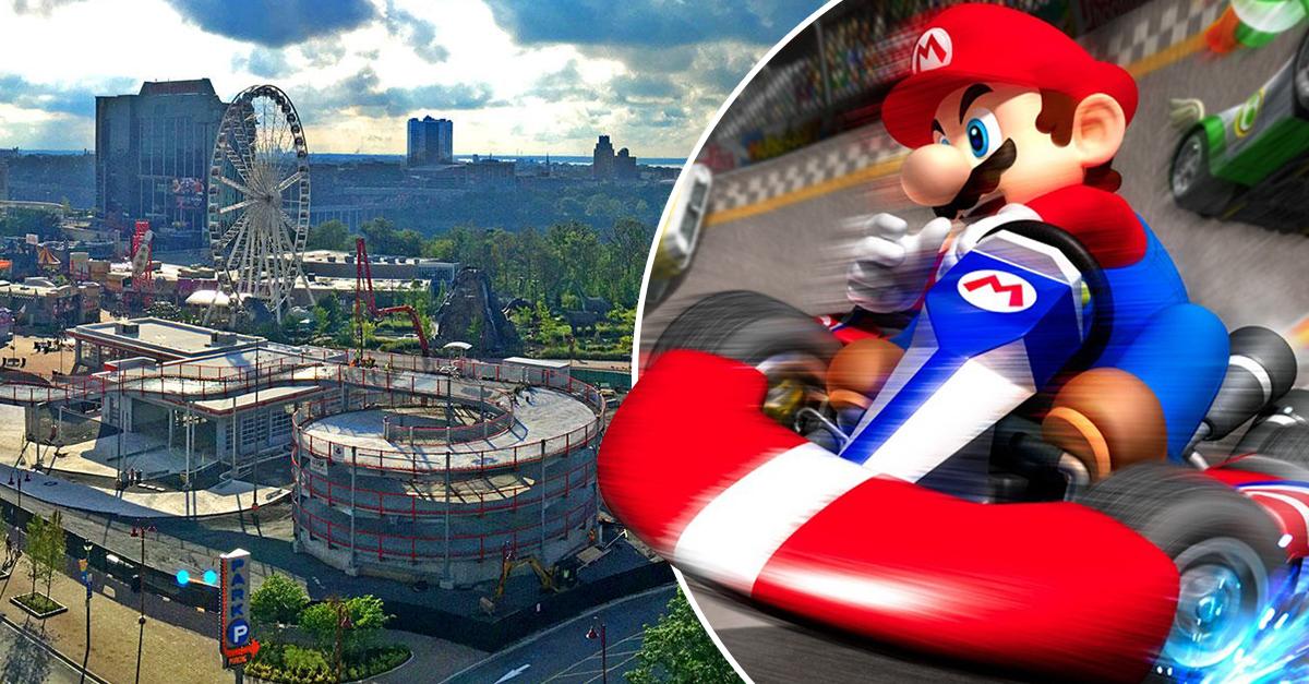 La pista de go karts inspirada en Mario Kart