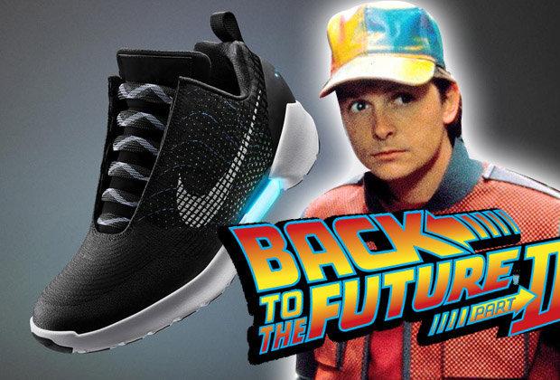 """""""Volver al futuro"""" ya es una realidad con las Nike HyperAdapt 1.0"""