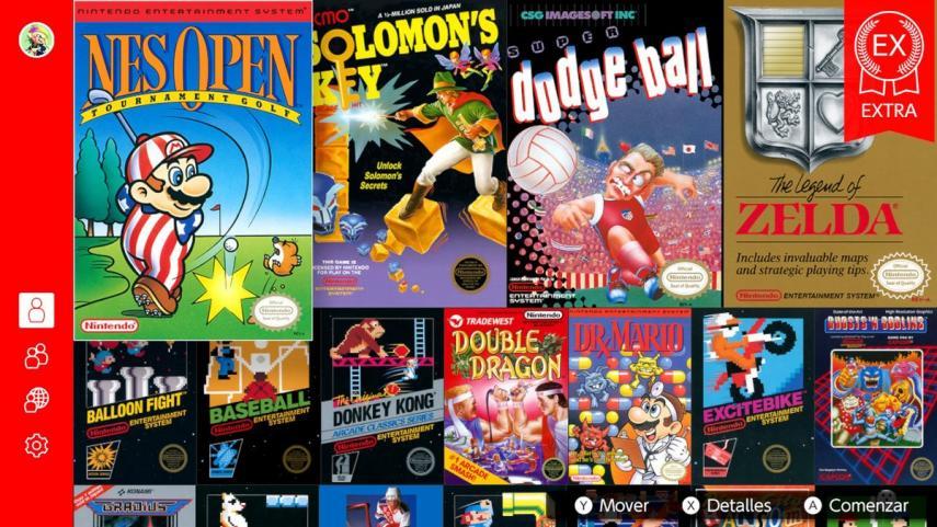 Nintendo lanza 4 juegos de NES para Nintendo Switch