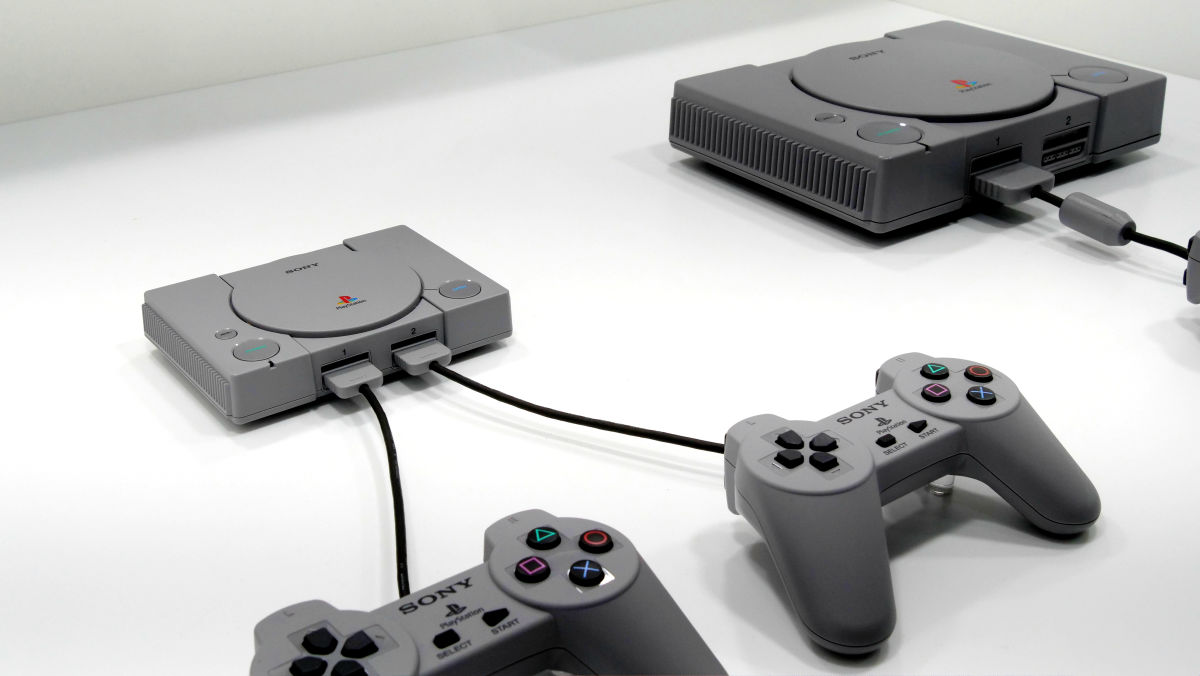 ¡Sony se une a la fiebre retro con el nuevo PlayStation Classic!