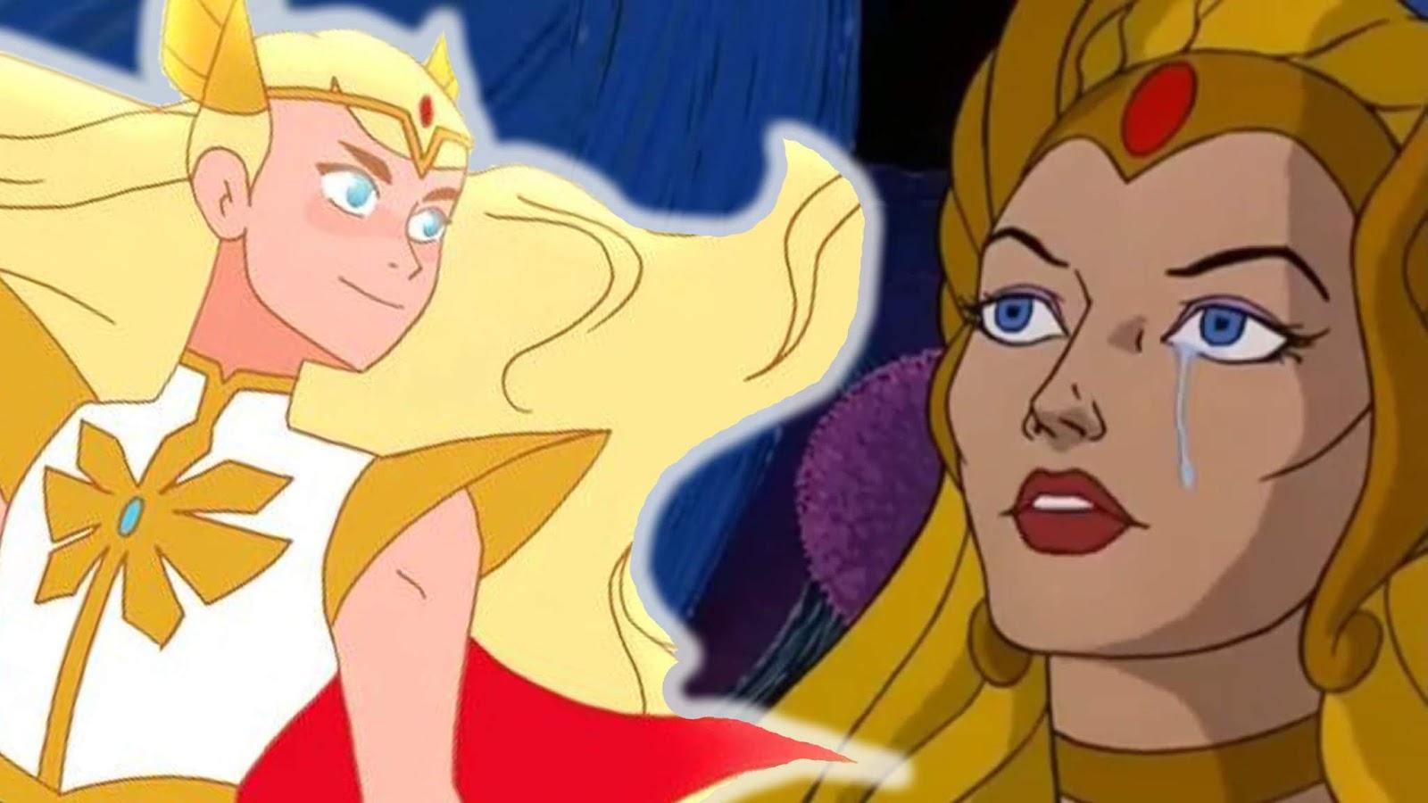 El increíble cambio de look de She-Ra para Netflix
