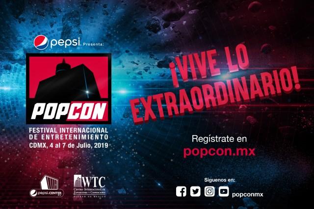 PopCon México Festival Internacional de Entretenimiento 2019 Pop