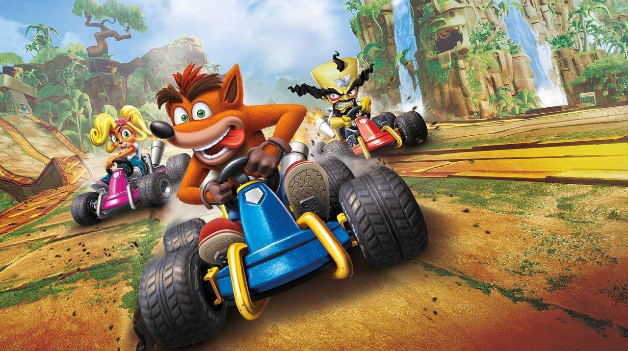 Conoce el trailer y la portada del nuevo Crash Team Racing