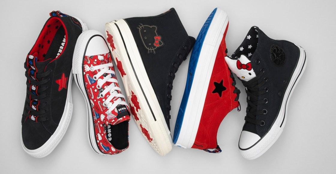 Nueva colección de Converse x Hello Kitty para esta navidad