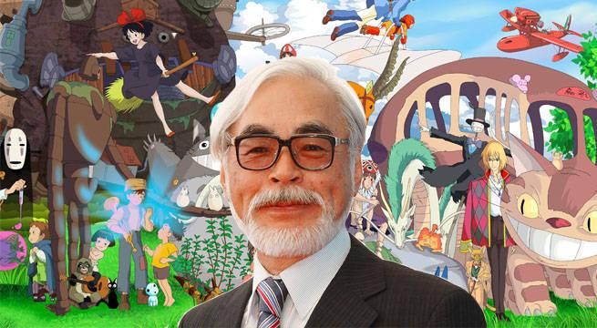 Hayao Miyazaki y su hijo trabajan en dos películas del Estudio Ghibli