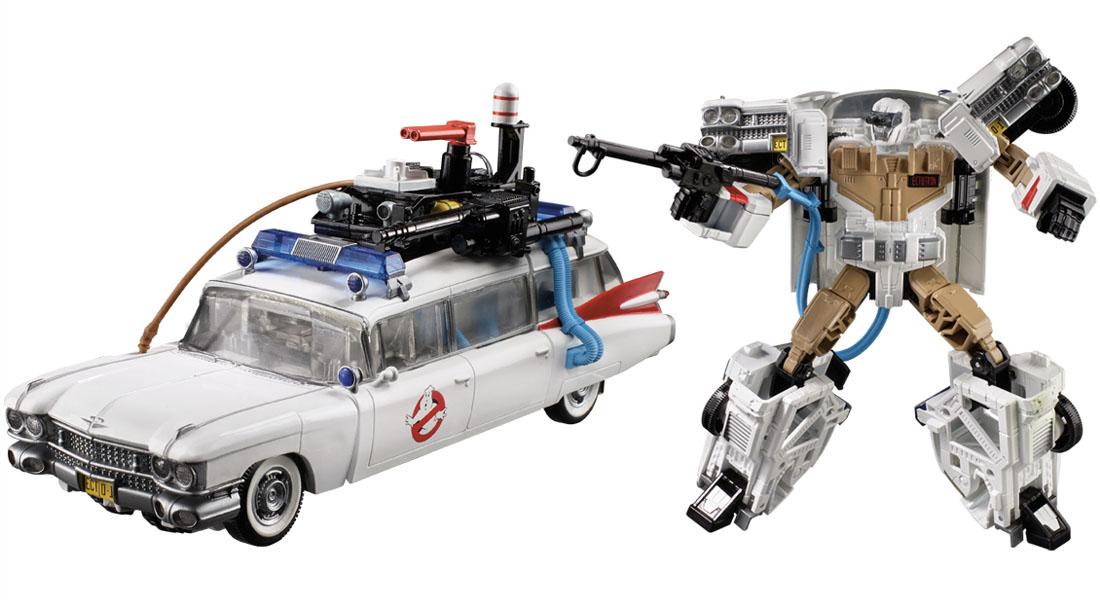 Crossover de Ghostbusters y Transformers en cómic… Próximamente