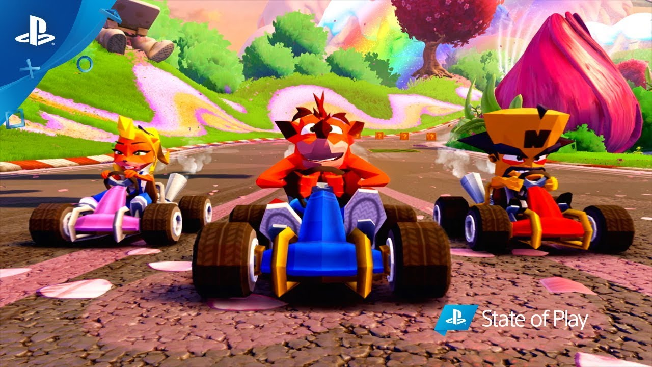 El nuevo trailer de Crash Team Racing tiene toques Retro