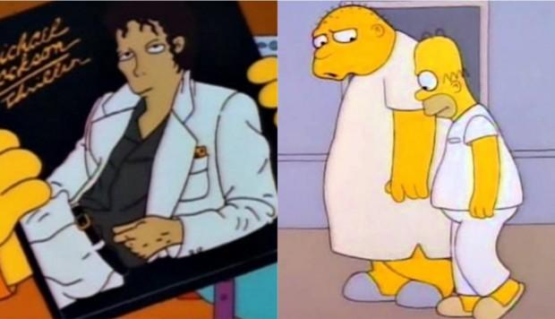 Los Simpson retiran el episodio de Michael Jackson
