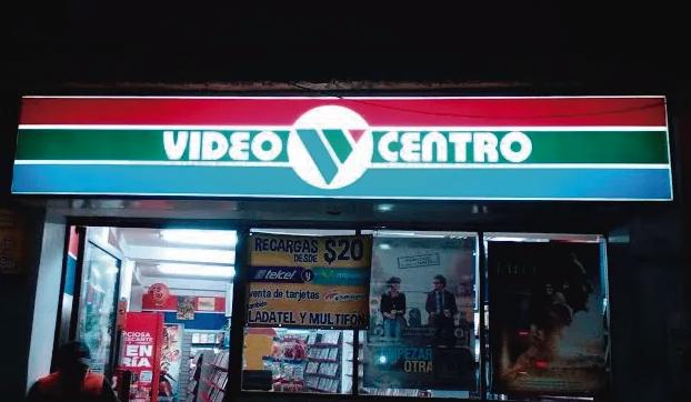 El último Videocentro que existe en México