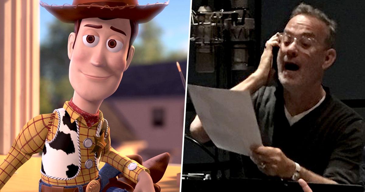 Con lagrimas, Tom Hanks se despide de Woody en Toy Story 4