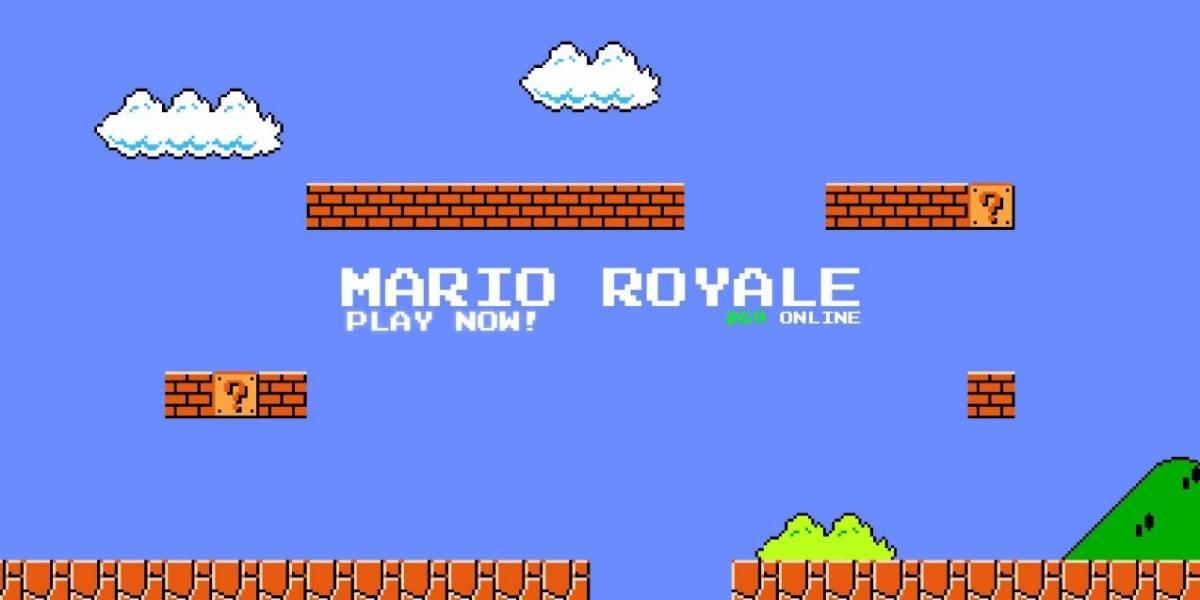 Super Mario Bros. versión Battle Royale totalmente gratuito