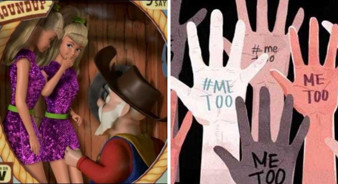 Eliminan escena de Toy Story 2 en apoyo al movimiento #MeToo