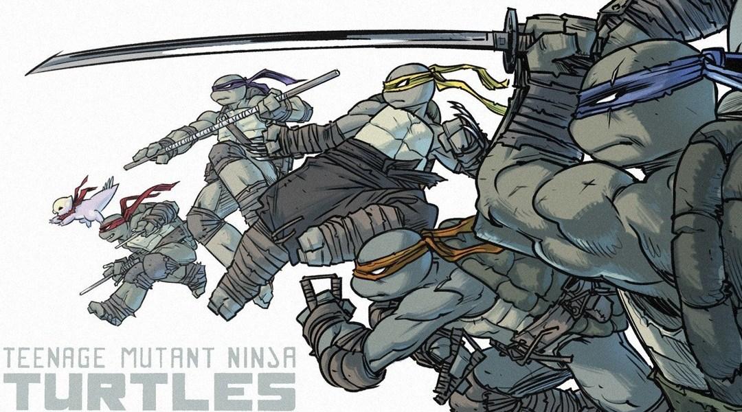 La nueva Tortuga Ninja usa tres armas diferentes