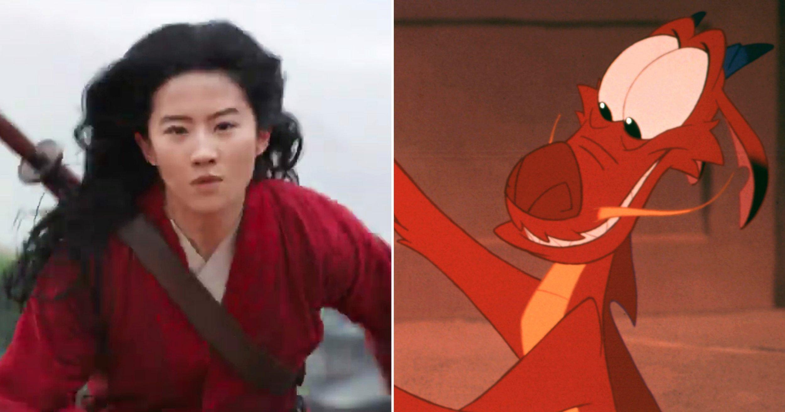 ¿Por qué Mushu no estará en la nueva película de Mulan?