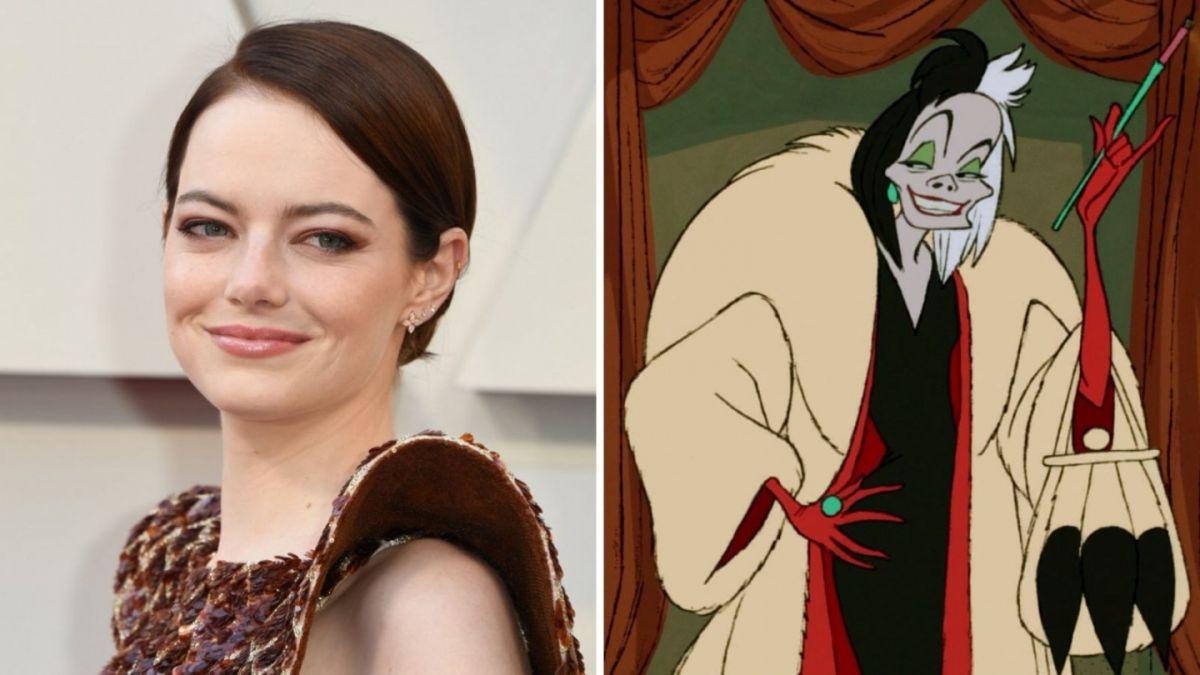 Primera aparición de Emma Stone como Cruella de Vil
