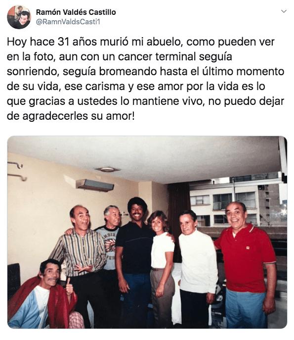 Revelan foto inédita de Don Ramón días antes de su muerte
