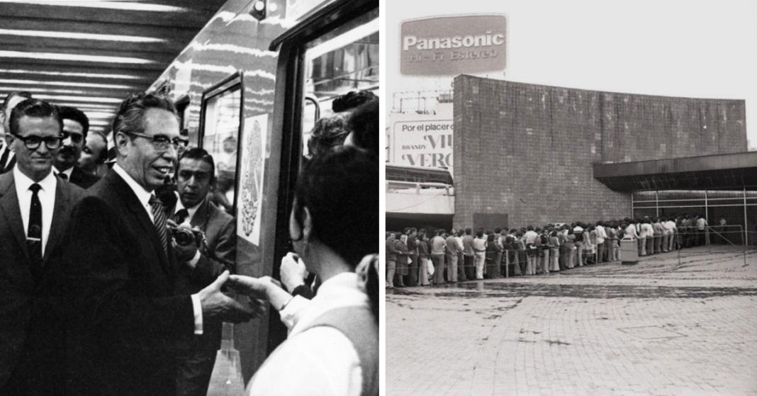 50 años de la inauguración del Metro de la CDMX