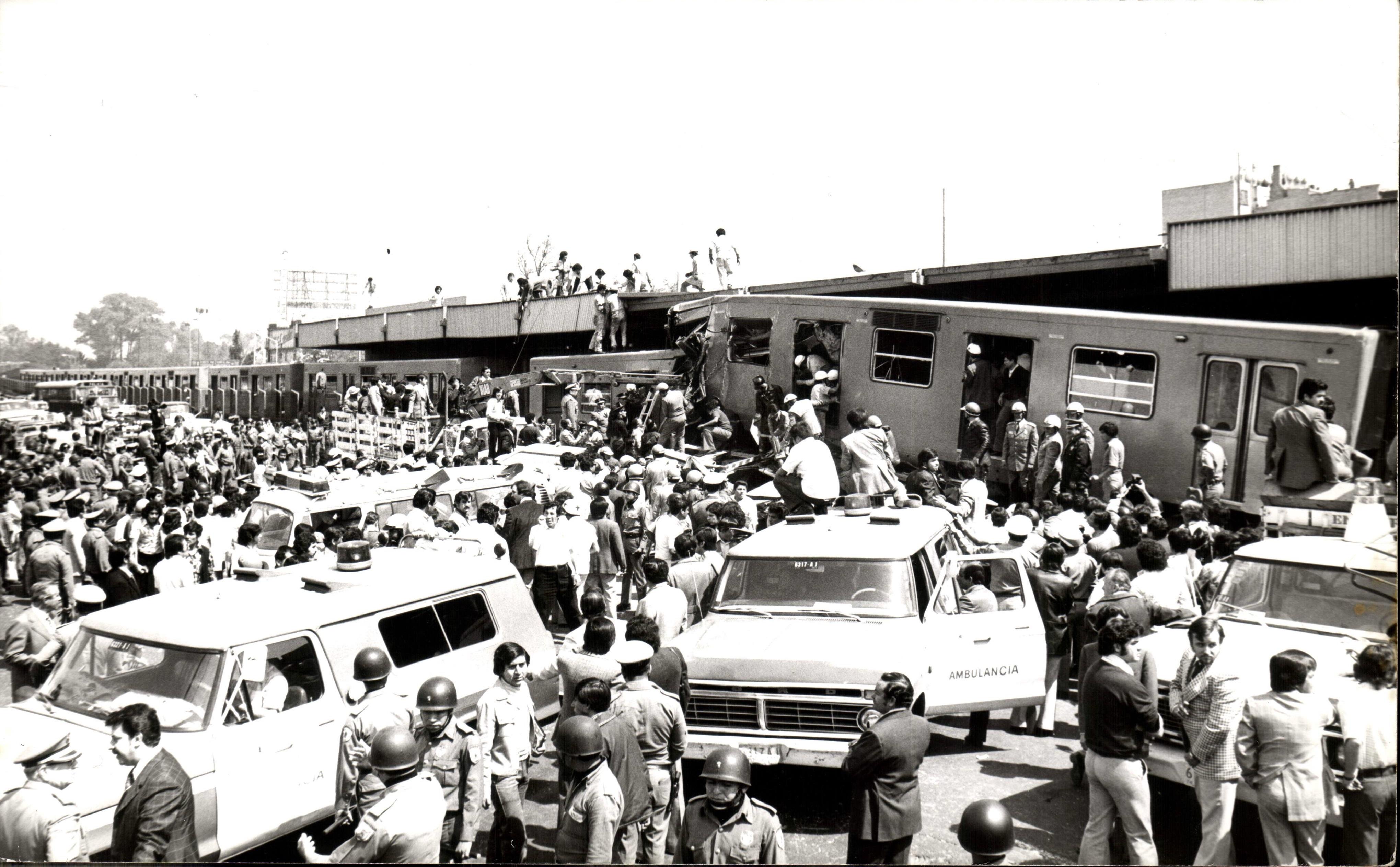 La mayor tragedia del Metro de la CDMX en 1975