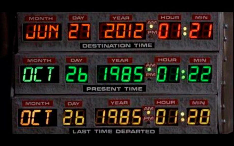 "Hoy se celebra el ""Back to the Future Day"""