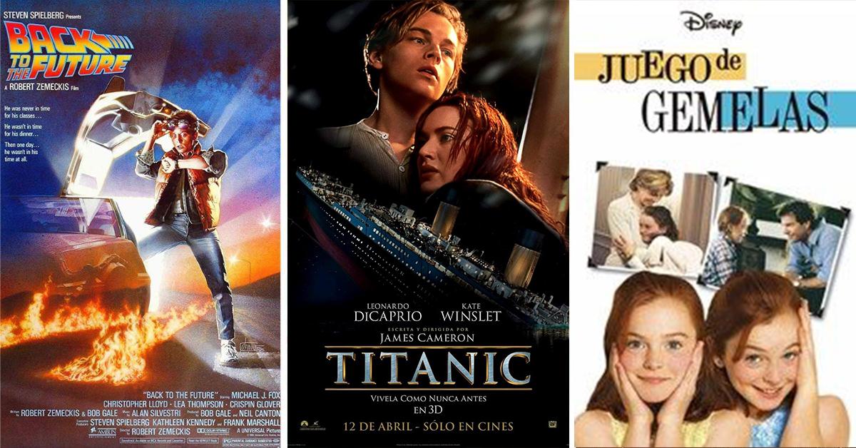 Las películas más repetidas en la TV abierta