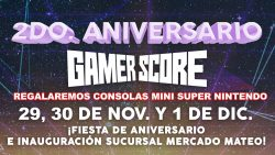 Gamer Score te invita a celebrar su 2do aniversario